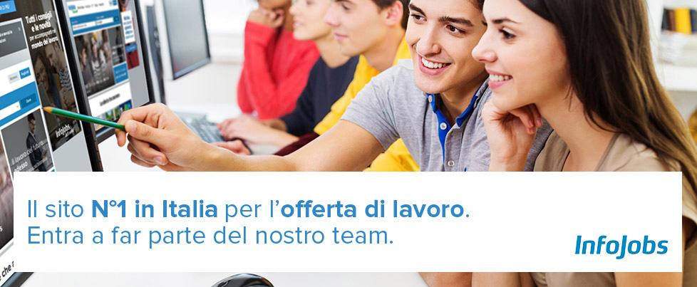 Offerte di lavoro di infojobs italia infojobs for Subito offerte lavoro milano